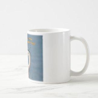 "Great Blue Heron ""Bad Hair Day"" Coffee Mug"