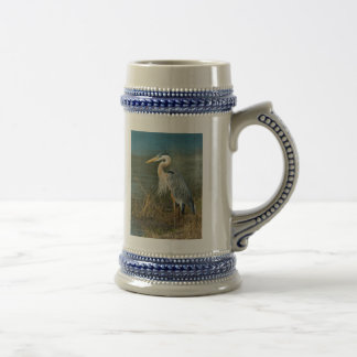 Great Blue Heron Beer Stein