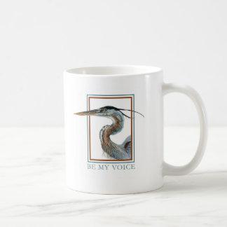 Great Blue Heron by Jane Freeman Coffee Mug