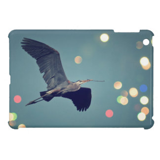 Great Blue Heron In Flight iPad Min Case iPad Mini Cover