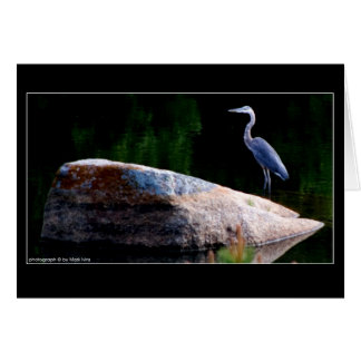 Great Blue Heron Stationery Note Card