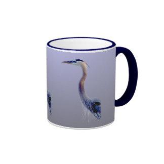 Great Blue Ringer Mug