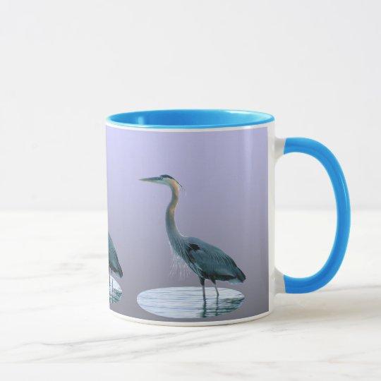 Great Blue Standing Tall Mug