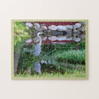 Great Blue Zen Jigsaw Puzzle