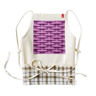 great braided basket, pink