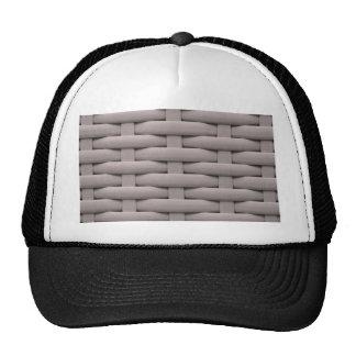 great braided basket, silver cap