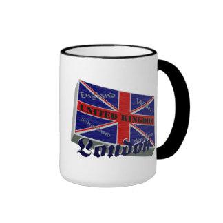 Great Britain 3D Mug