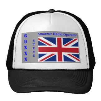 Great Britain Amateur Radio Cap Trucker Hat