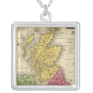 Great Britain and Ireland Silver Plated Necklace
