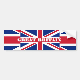 Great Britain Bumper Sticker