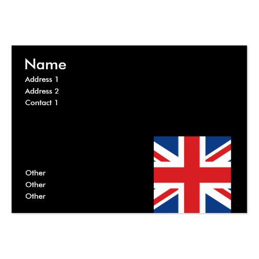Great Britain Business Card