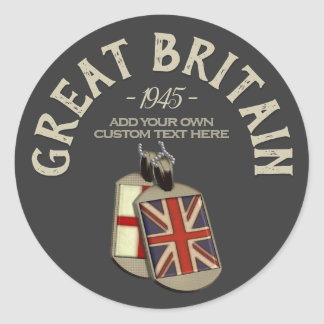 Great Britain English Dog Tags