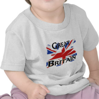 Great Britain - faded flag T-shirts