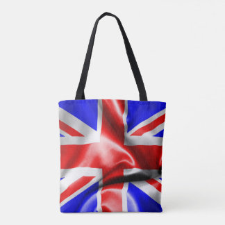 Great Britain Flag All-Over-Print Tote Bag