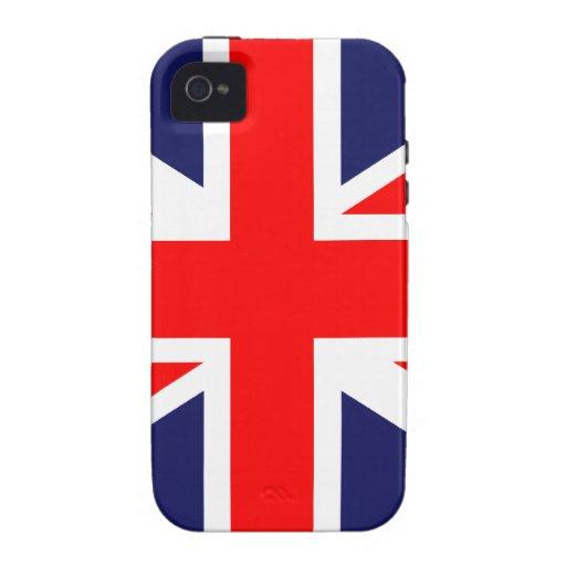 Great Britain Flag Case-Mate iPhone 4 Case