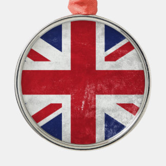 Great Britain Flag Christmas Ornament