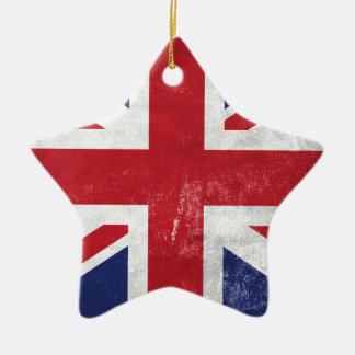 Great Britain Flag Christmas Ornament