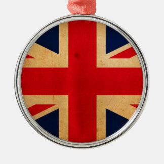 Great Britain Flag Christmas Tree Ornament