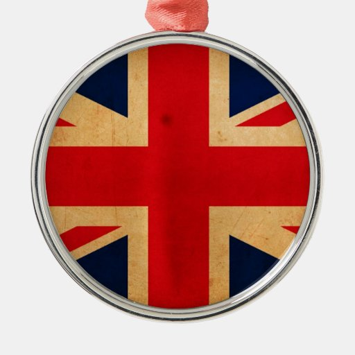 Great Britain Flag Christmas Tree Ornament