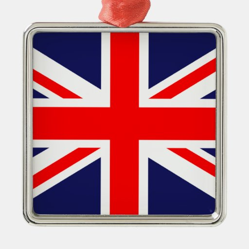 Great Britain Flag Christmas Ornaments