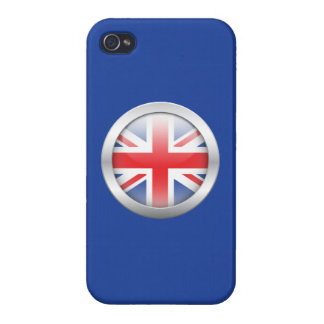 Great Britain Flag in Orb iPhone 4/4S Case