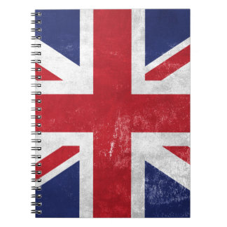 Great Britain Flag Notebooks