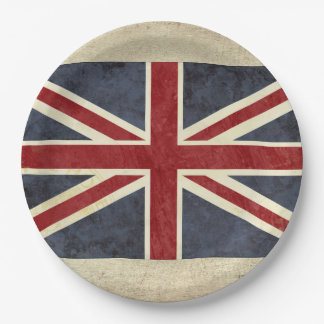Great Britain Flag Paper Plates