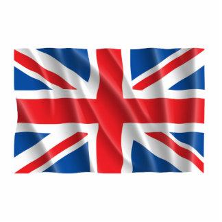 GREAT BRITAIN FLAG PHOTO SCULPTURE DECORATION