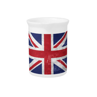 Great Britain Flag Pitcher