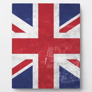 Great Britain Flag Plaque