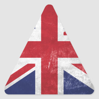 Great Britain Flag Triangle Sticker