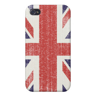 Great Britain flag vintage iPhone 4 Covers