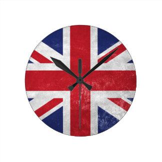 Great Britain Flag Wallclock