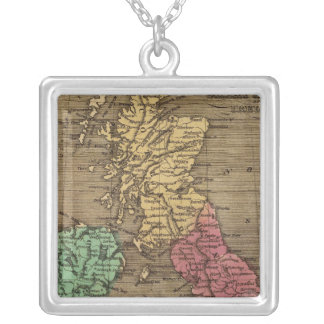 Great Britain, Ireland 2 Silver Plated Necklace