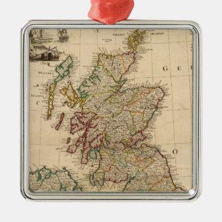Great Britain, Ireland Silver-Colored Square Decoration