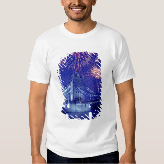 Great Britain, London. Fireworks over the Tower Tshirts