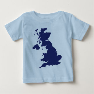 Great Britain Map Baby T-Shirt