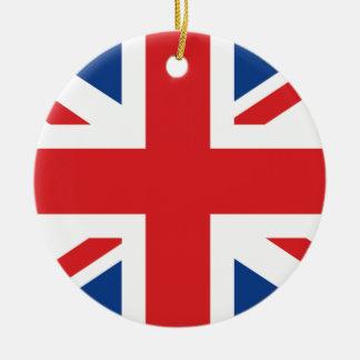 Great Britain Round Ceramic Decoration