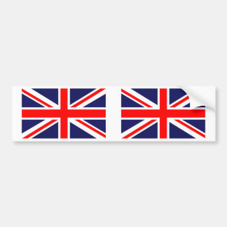 Great Britain Union Jack Bumper Sticker