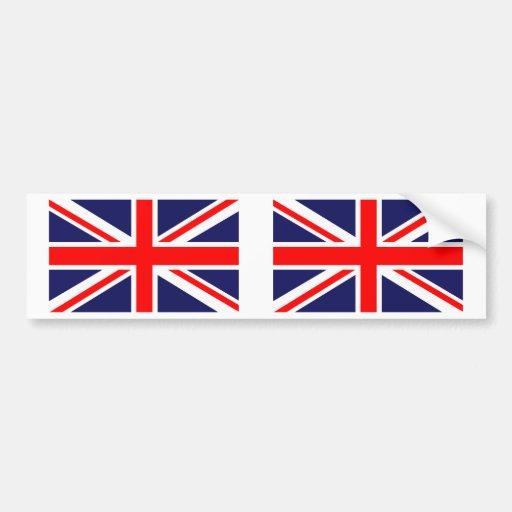 Great Britain Union Jack Bumper Sticker