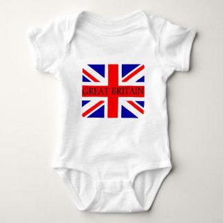 Great Britain Union Jack flag Baby Bodysuit