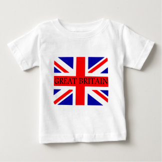 Great Britain Union Jack flag Baby T-Shirt