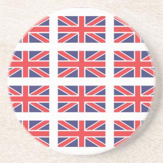 Great Britain Union Jack Flag Coaster