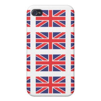 Great Britain Union Jack Flag iPhone 4 Case