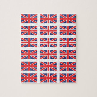 Great Britain Union Jack Flag Puzzle/Jigsaw Jigsaw Puzzle