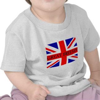 Great Britain Union Jack flag T Shirt