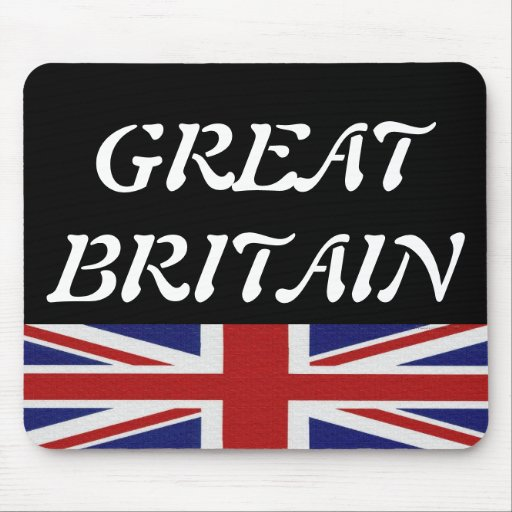 Great Britain (United Kingdom) Mouse Pad
