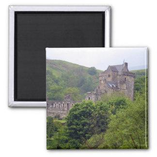 Great Britain, United Kingdom, Scotland, Square Magnet