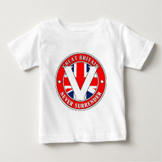 Great Britain-V-001 Baby T-Shirt