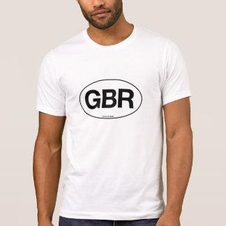 Great Britian Oval Tshirts